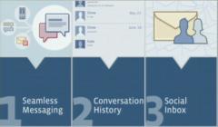 Tři hlavní atributy nové komunikační služby Facebooku