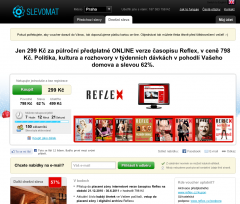 Online Reflex ve Slevomatu