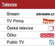 Na Streamu jsou už pořady Primy, Óčka a televize Public. Repro: stream.cz