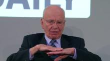 'Ambice jsou vysoké, náklady nízké,' tvrdil před rokem a půl Rupert Murdoch. Cílová skupina? 'Everybody.' Repro: the daily.com