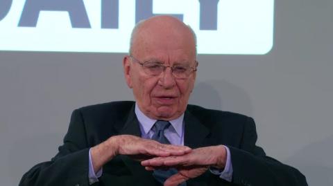 """'Ambice jsou vysoké, náklady nízké,"""" tvrdí Murdoch. Cílová skupina? 'Everybody.' Repro: the daily.com"""