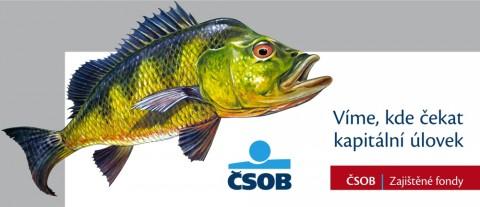 Billboard kampaně ČSOB s přesahem do prostoru. Repro: ČSOB
