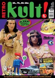 Titulní strana prvního čísla retro časopisu Kult