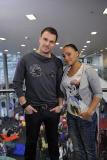 Leoš Mareš a Tina. Foto: TV Nova