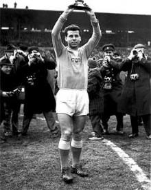 Josef Masopust na fotbalovém MS 1962 v Chile. Foto: ČT