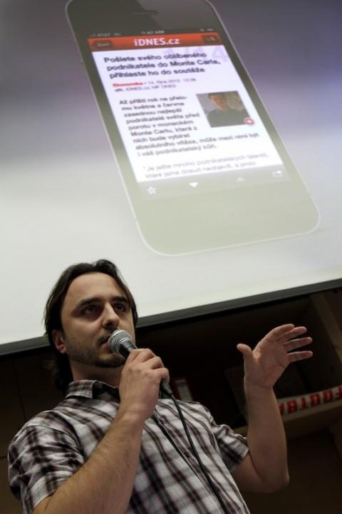 iDNES.cz pro iOS (Petr Reichl, Tapmates)