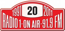 Logo dvacetin Radia 1. Foto: Radio 1