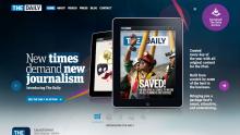 Web The Daily má být grátis ochutnávkou obsahu. Repro: thedaily.com