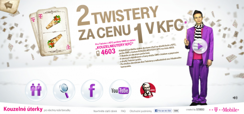 Dva Twistery za cenu jednoho. V KFC za peníze T-Mobilu