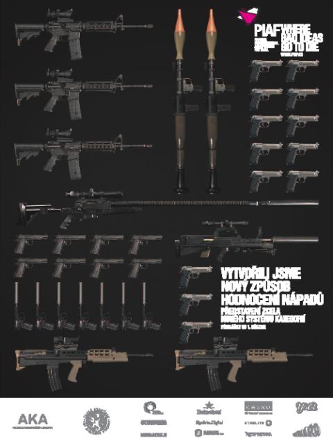 PIAF: Zbraně