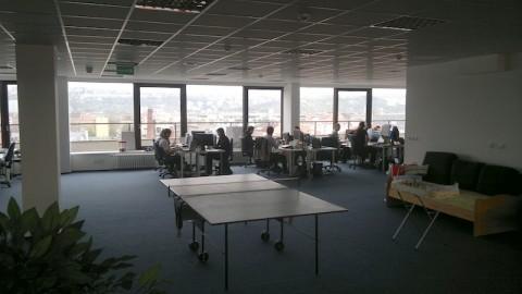 Po spojení Ataxa s H1.cz se obě firmy přestěhovaly do společných kanceláří v pražské Dělnické ulici. Foto: Ondřej Aust