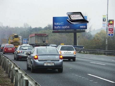 Bigboard s kampaní na Nokia E7. Foto: Nokia