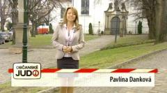 Pavlína Danková v Občanském judu. Repro: voyo.cz