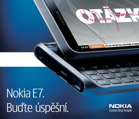 Double bigboard s Nokia E7