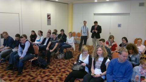 Soutěžící v kategorii Media se dnes sešli v pražském hotelu Iris. Foto: Ondřej Aust