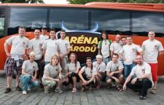 Český tým Arény národů. Foto: TV Prima