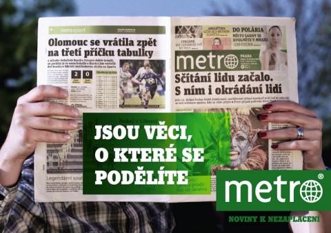 Metro: Jsou věci, o které se podělíte