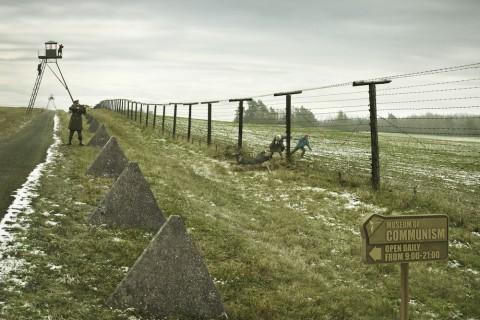 Muzeum komunismu - Útěk přes plot