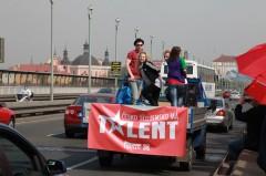 Promoakce před castingy. Foto: TV Prima