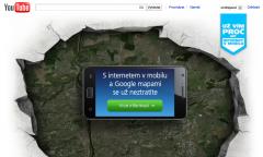Kampaň O2 využívá aplikace nad platformou YouTube