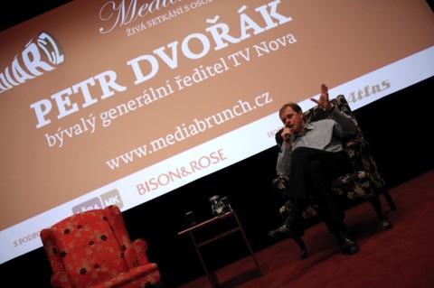 Petr Dvořák hostem MediaBrunche serveru Médiář.cz. Foto: David Borozidis