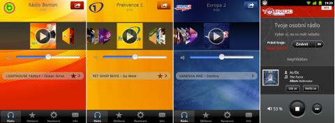 Mobilní aplikace mediální skupiny Lagardere