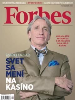 První číslo slovenské mutace Forbesu, listopad 2010. Repro: forbes.sk