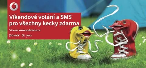 Vodafone: Víkend patří keckám