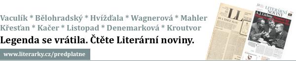 Legenda se vrátila. Čtěte Literární noviny.