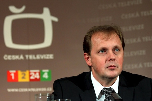 Čerstvý generální ředitel ČT Petr Dvořák na tiskové konferenci po volbě. Foto: Ivana Dvorská