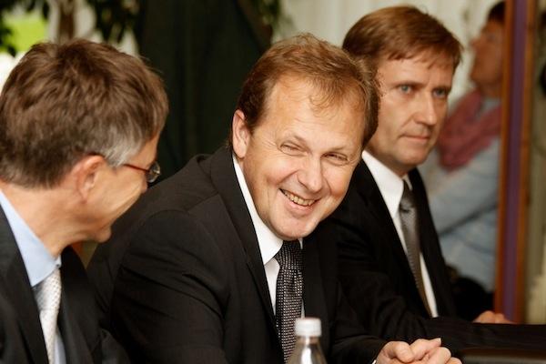 Zleva Hynek Chudárek, Petr Dvořák, Roman Bradáč. Foto: Ivana Dvorská