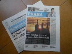 Příloha Praha Hospodářských novin