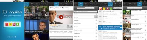 iVysílání České televize pro Android