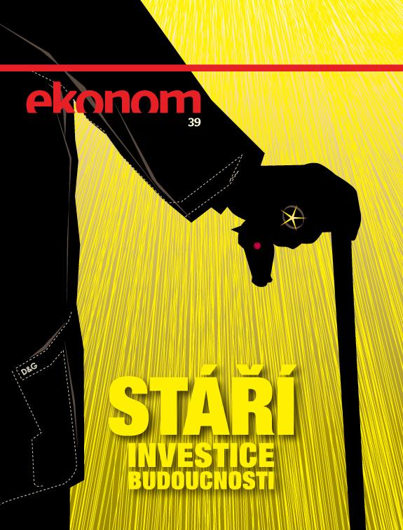Obálka Ekonomu z 29. září s novým logem, které odstartuje 6. října. Repro: Economia