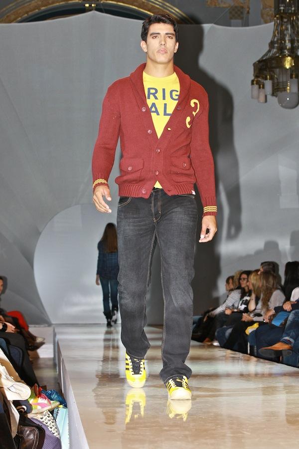 Scottova kolekce Adidas Originals Blue Label, model pro muže