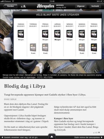 Aftenposten pro iPad