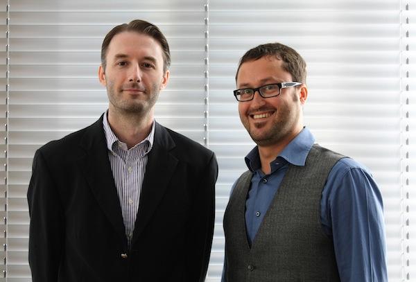 Radek Dráb a Tomáš Poucha. Foto: TBWA