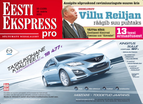 Eesti Ekspress pro iPad