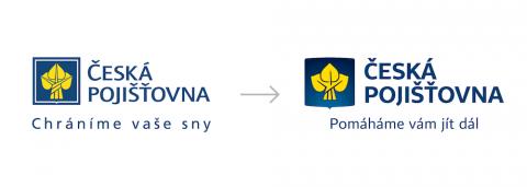 Česká pojišťovna: Loga a slogany