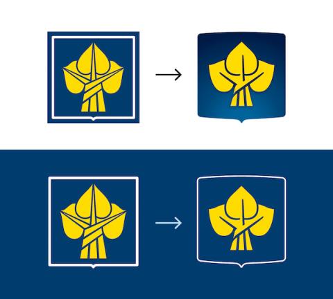 Česká pojišťovna: Původní a nové logo