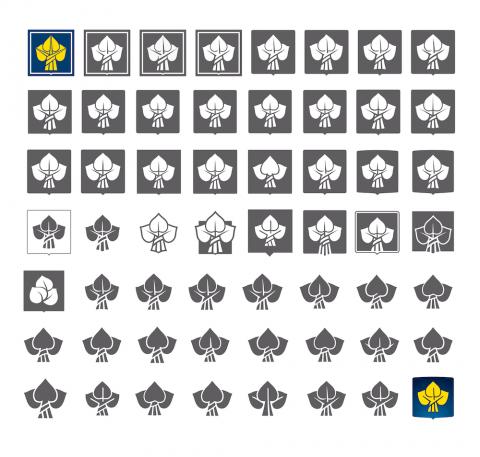Česká pojišťovna: Skicování loga