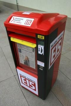 E15 se zkoušela loni v Plzni prodávat ve vlastních automatech za 5 Kč. Foto: Mladá fronta