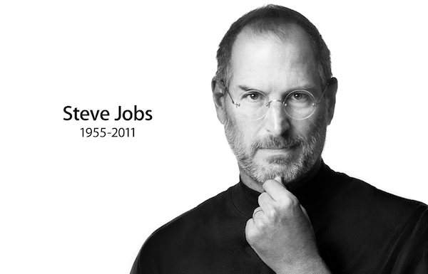 Steve Jobs 1955-2011. Repro: apple.com