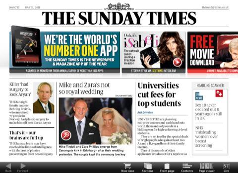 Sunday Times pro iPad