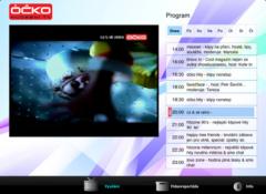 Aplikace TV Óčko pro iPad