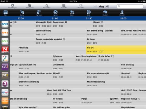 VG TVGuide pro iPad