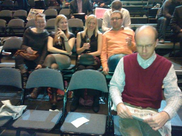 V zadní brázdě tým Googlu, nejlepšího vyhledávače, v popředí začtený konzultant Martin Kopta