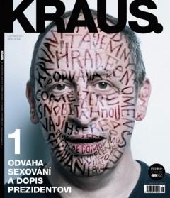 Titulní strana 1. čísla časopisu Kraus