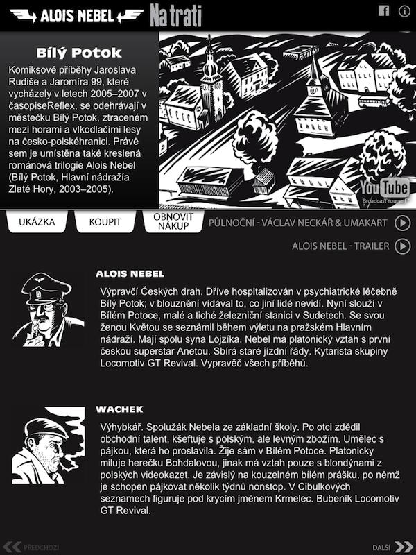 Alois Nebel pro iPad