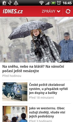 iDnes.cz pro Android